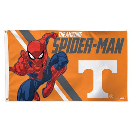Tennessee Volunteers / Marvel (c) 2021 MARVEL Flag - Deluxe 3' X 5'