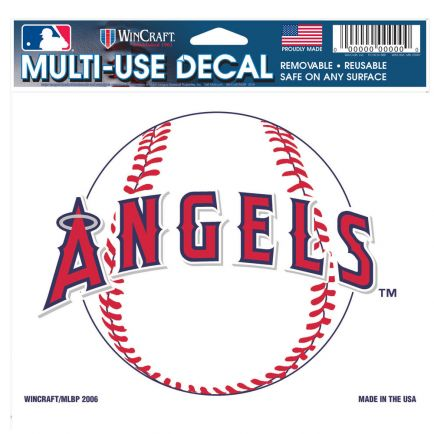 """Angels Multi-Use Decal -Clear Bckrgd 5"""" x 6"""""""