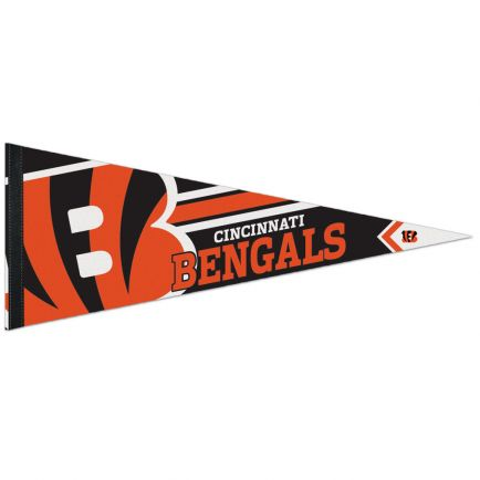 """Cincinnati Bengals Logo Premium Pennant 12"""" x 30"""""""