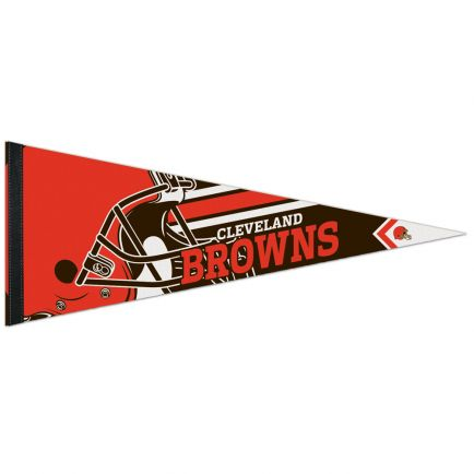 "Cleveland Browns Logo Premium Pennant 12"" x 30"""