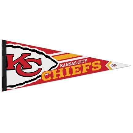 "Kansas City Chiefs Logo Premium Pennant 12"" x 30"""