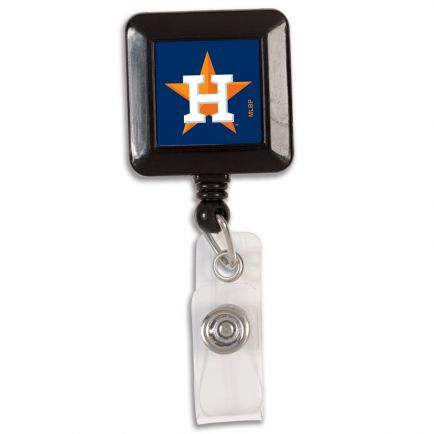 Houston Astros Retractable Badge Holder