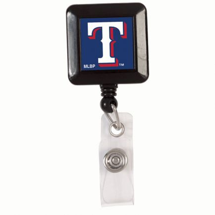 Texas Rangers Retractable Badge Holder