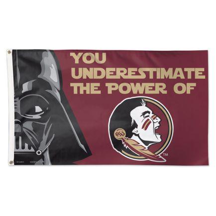 Florida State Seminoles / Star Wars Darth Vader Flag - Deluxe 3' X 5'