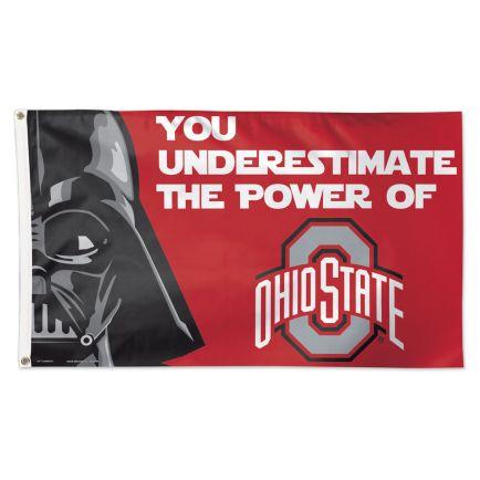 Ohio State Buckeyes / Star Wars Darth Vader Flag - Deluxe 3' X 5'