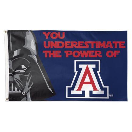 Arizona Wildcats / Star Wars Darth Vader Flag - Deluxe 3' X 5'