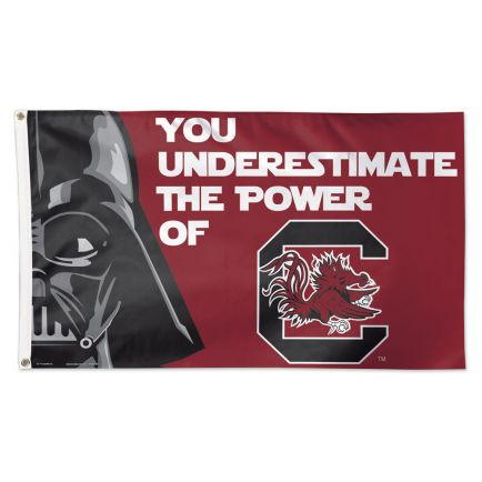 South Carolina Gamecocks / Star Wars Darth Vader Flag - Deluxe 3' X 5'