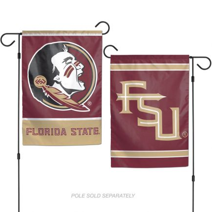 """Florida State Seminoles Garden Flags 2 sided 12.5"""" x 18"""""""