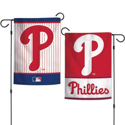 "Philadelphia Phillies Garden Flags 2 sided 12.5"" x 18"""