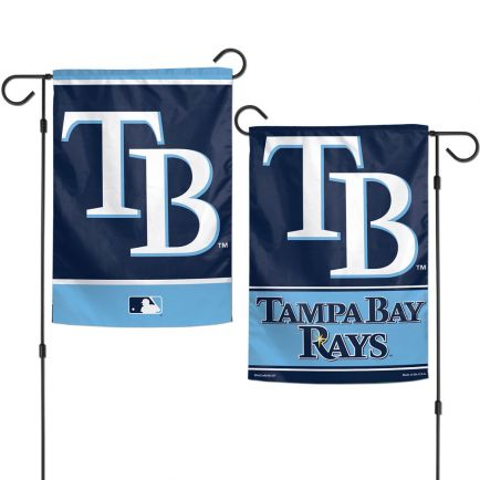 """Tampa Bay Rays Garden Flags 2 sided 12.5"""" x 18"""""""