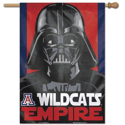 "Arizona Wildcats / Star Wars star wars vader Vertical Flag 28"" x 40"""