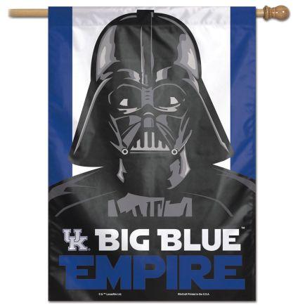 """Kentucky Wildcats / Star Wars DARTH VADER Vertical Flag 28"""" x 40"""""""