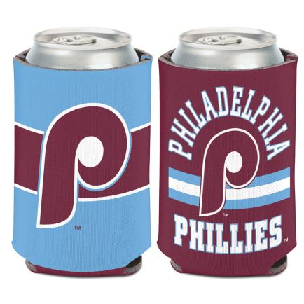 Philadelphia Phillies / Cooperstown STRIPE Can Cooler 12 oz.