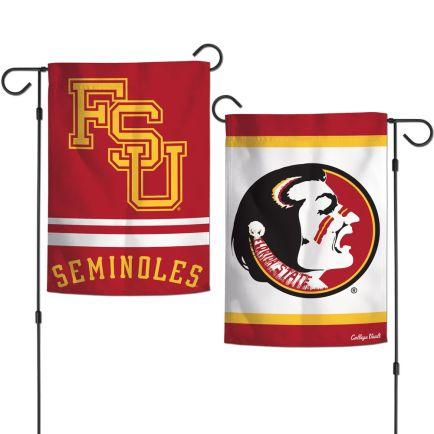 "Florida State Seminoles /College Vault Garden Flags 2 sided 12.5"" x 18"""