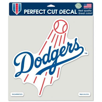 "Los Angeles Dodgers Perfect Cut Color Decal 8"" x 8"""