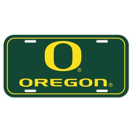 Oregon Ducks License Plate
