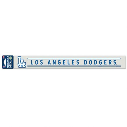 "Los Angeles Dodgers Perfect Cut Decals 2"" x 17"""