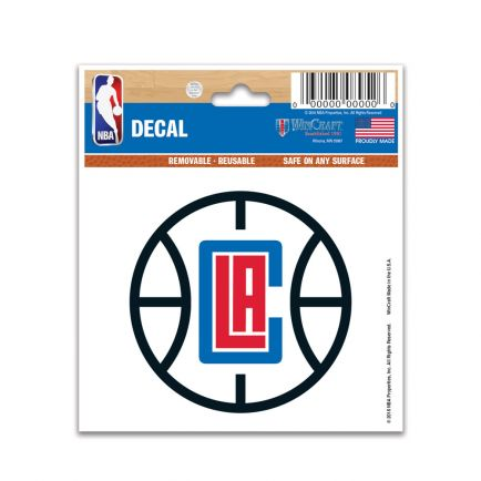 "Los Angeles Clippers Multi-Use Decal 3"" x 4"""