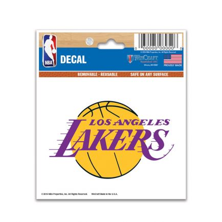 "Los Angeles Lakers Multi-Use Decal 3"" x 4"""