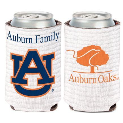 Auburn Tigers /Oaks Can Cooler 12 oz.