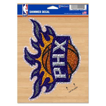 "Phoenix Suns Shimmer Decals 5"" x 7"""