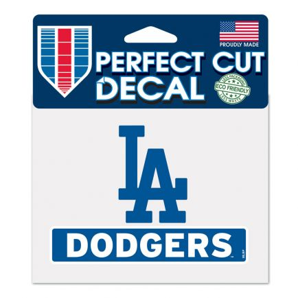 "Los Angeles Dodgers Perfect Cut Color Decal 4.5"" x 5.75"""