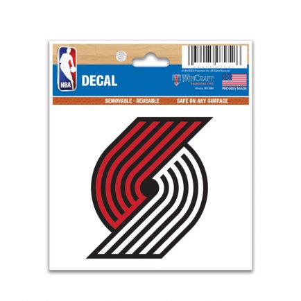 "Portland Trail Blazers Multi-Use Decal 3"" x 4"""