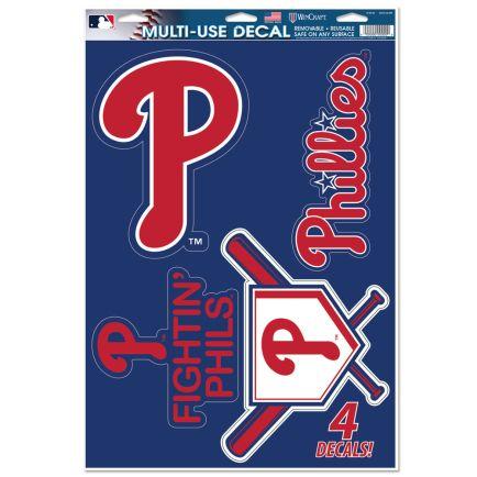 "Philadelphia Phillies Multi-Use Decal 11"" x 17"""