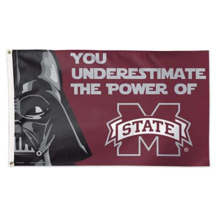 Mississippi State Bulldogs / Star Wars Darth Vader Flag - Deluxe 3' X 5'