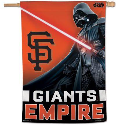 """San Francisco Giants / Star Wars vader Vertical Flag 28"""" x 40"""""""