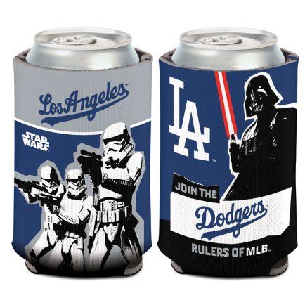 Los Angeles Dodgers / Star Wars Darth Vader Can Cooler 12 oz.