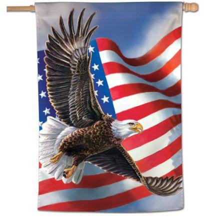 """Patriotic Vertical Flag 28"""" x 40"""""""