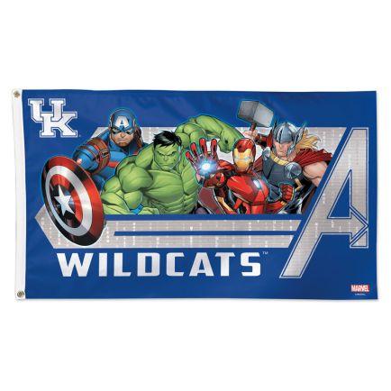 Kentucky Wildcats / Marvel (c) 2021 MARVEL Flag - Deluxe 3' X 5'