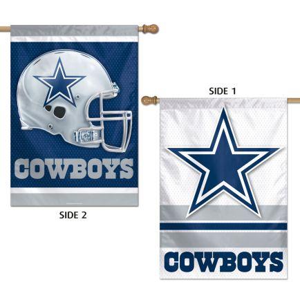 """Dallas Cowboys Vertical Flag 2 Sided 28"""" x 40"""""""