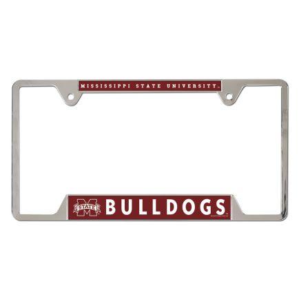Mississippi State Bulldogs Metal License Plate Frame