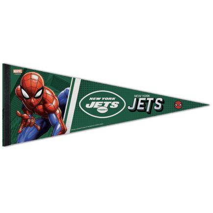 "New York Jets / Marvel (c) 2021 MARVEL Premium Pennant 12"" x 30"""