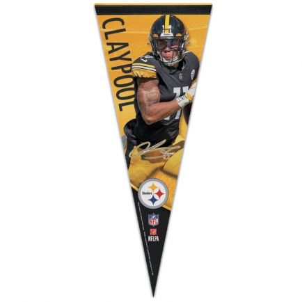 "Pittsburgh Steelers Premium Pennant 12"" x 30"" Chase Claypool"