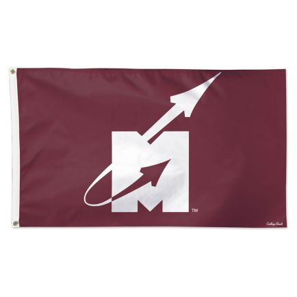 Mississippi State Bulldogs /College Vault Flying M Logo Flag - Deluxe 3' X 5'