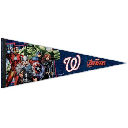 "Washington Nationals / Marvel (c) 2021 MARVEL Premium Pennant 12"" x 30"""