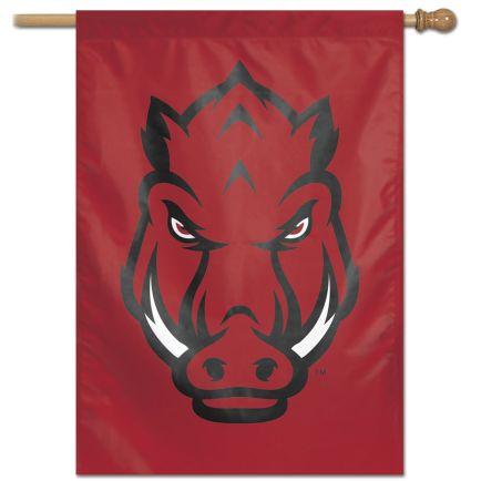 "Arkansas Razorbacks Vertical Flag 28"" x 40"""