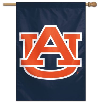 "Auburn Tigers Vertical Flag 28"" x 40"""