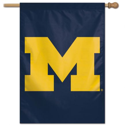 "Michigan Wolverines Vertical Flag 28"" x 40"""
