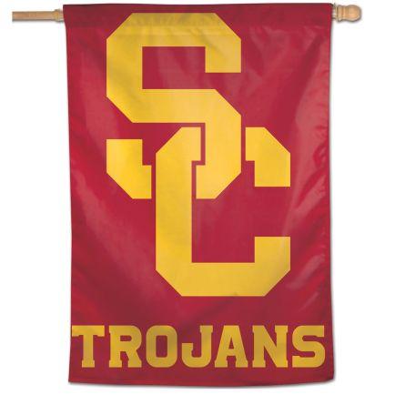 "USC Trojans Vertical Flag 28"" x 40"""