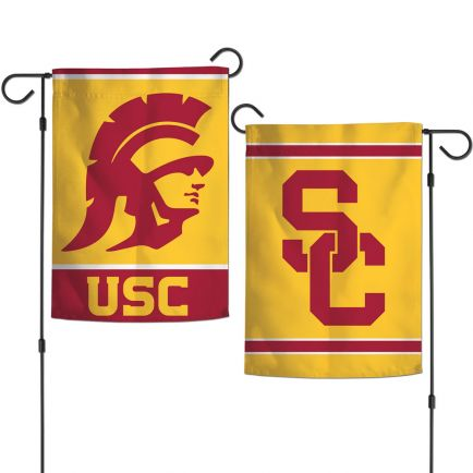"USC Trojans Garden Flags 2 sided 12.5"" x 18"""