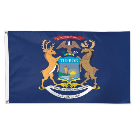State / Michigan Flag - Deluxe 3' X 5'