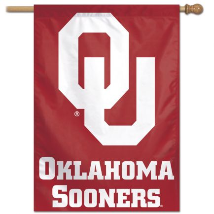 "Oklahoma Sooners Vertical Flag 28"" x 40"""