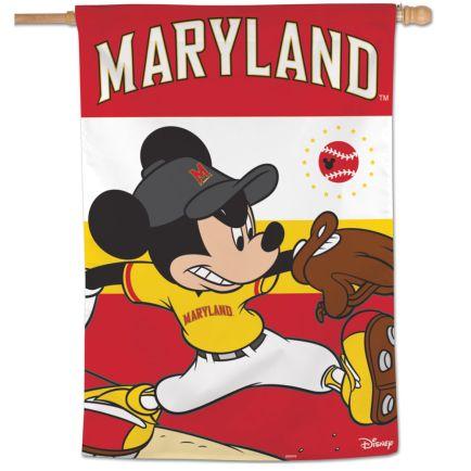 "Maryland Terrapins / Disney Vertical Flag 28"" x 40"""