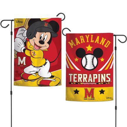 "Maryland Terrapins / Disney Garden Flags 2 sided 12.5"" x 18"""