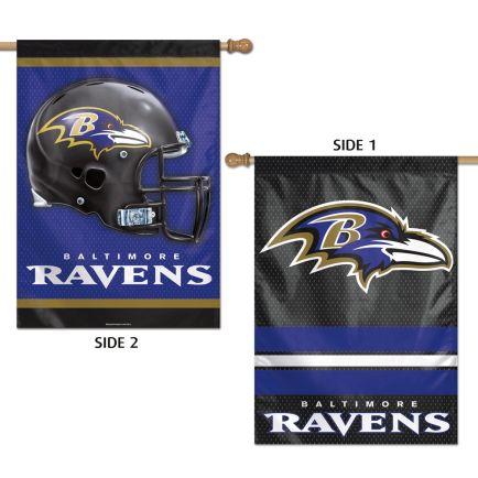 """Baltimore Ravens Vertical Flag 2 Sided 28"""" x 40"""""""