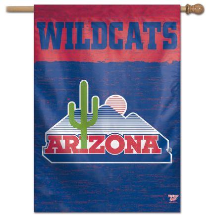 "Arizona Wildcats / Vintage Collegiate VINTAGE Vertical Flag 28"" x 40"""